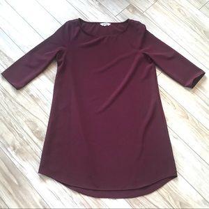 BB Dakota Long Sleeve Shift Dress